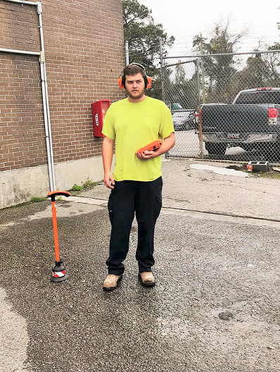 Charleston leak detection