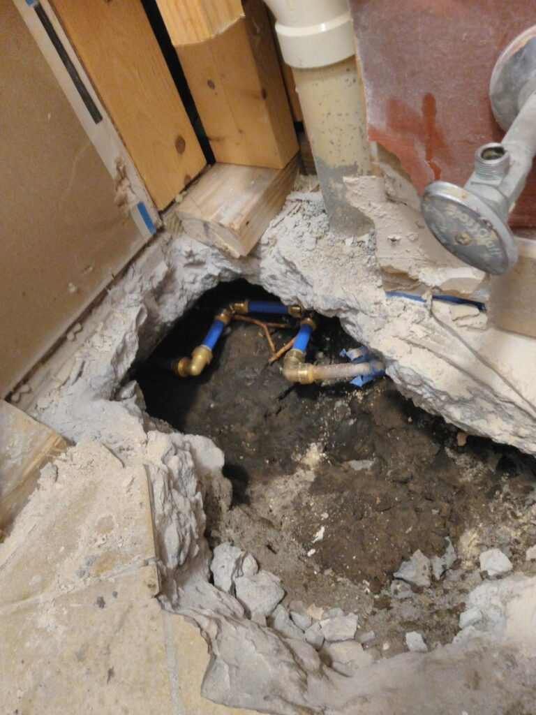 Mount Pleasant Leak Detection & Repair